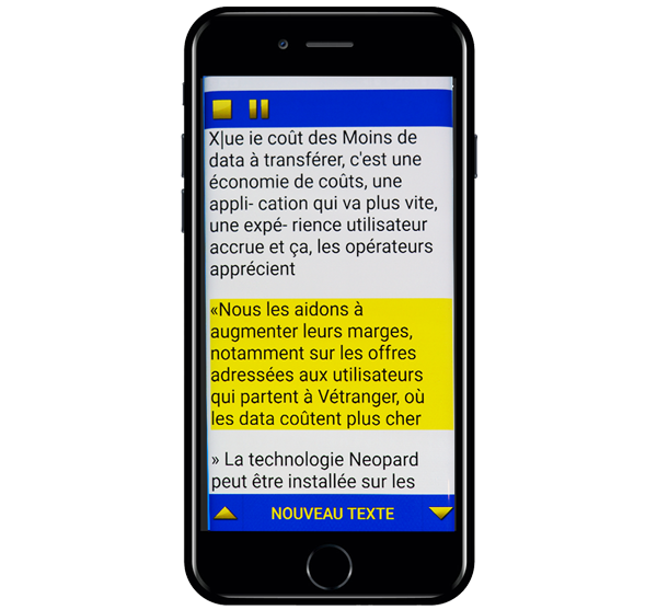 iphone accueil lecture black - Home De