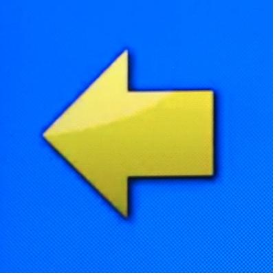 icon fleche gauche - Gebrauchsanweisung
